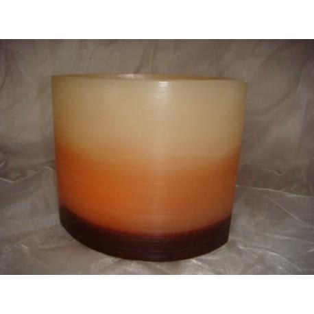 Ovale Kerze in 3 Farben