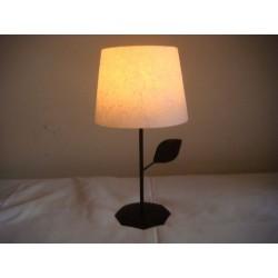 Tischlampe aus Wachs