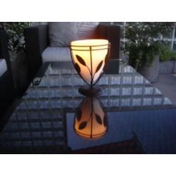 Tischlampe/Kerze m.Gestell